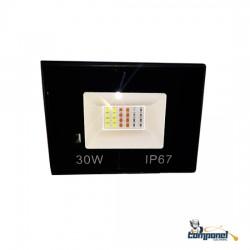 Refletor LED SMD RGB 30w ip67